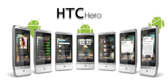 Imagen de título sobre el HTC Hero